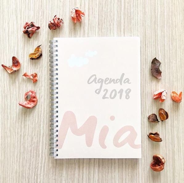 copertina agenda mia 2018