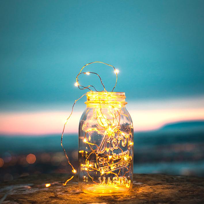 crea il tuo luminoso futuro