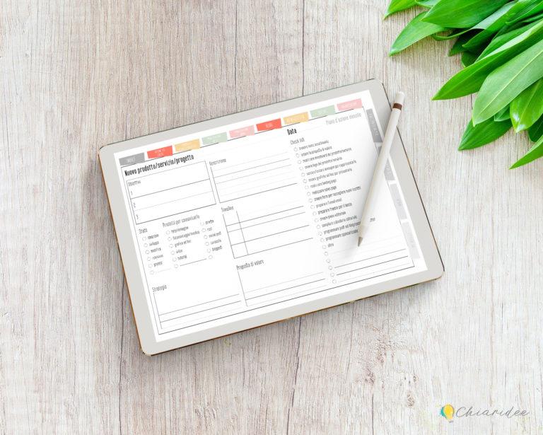 Super Biz Planner Digitale pagina prodotto