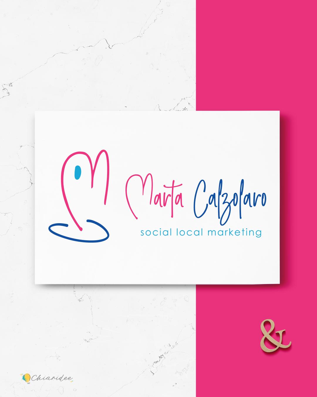 Social media manager logo
