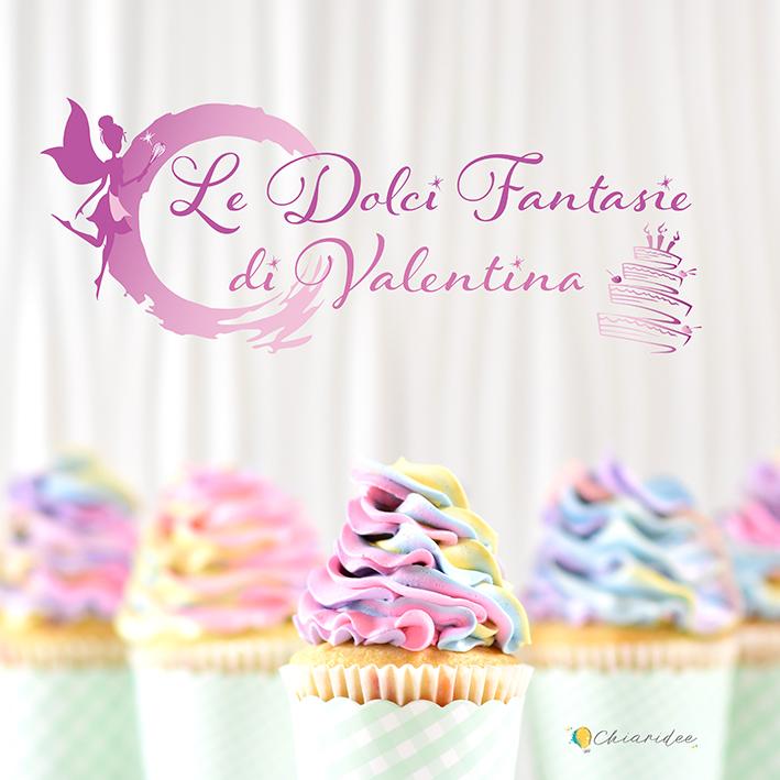 logo le dolci fantasie di valentina